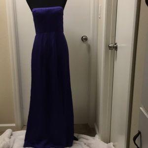 Bcbg maxazria size 6 front slip purple dress